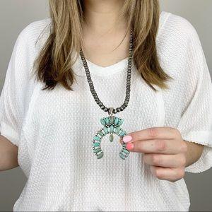 Take Your Chances Squash Blossom Necklace